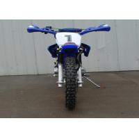 Quality Blue Street Legal Dirt Bike Motorcycle 200cc 1 Cylinder 4 Stroke Air Cooled for sale