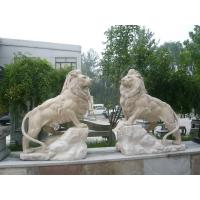 Wholesale White Animal stone sculpture for garden from china suppliers