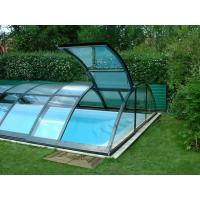 Wholesale Custom Bent Glass , Tempered Bent Curved Glass For Pool Fencing from china suppliers