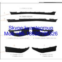 Wholesale Durable Spoiler Replacement Car Body Spare Parts For Toyota Corolla 2003 from china suppliers
