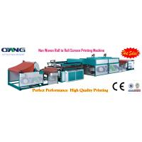 Wholesale d-cut bag non woven screen printing machine of 2 colors printing from china suppliers