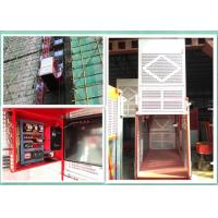 Wholesale Builders Personnel And Materials Hoist , Buck Man Material Lift For Construction from china suppliers