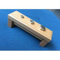 Wholesale Tiger Montessori - Nuts and Bolts made of RUBBER wood with metal for toddler and infant from china suppliers