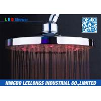 Wholesale Ceiling Rainfall Luxurious Detachable SPA Rain Shower Head With LED Lights from china suppliers