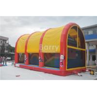 Wholesale Indoor / Outdoor Kids Inflatable Playground Equipment With Cover from china suppliers
