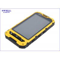 MTK CPU Waterproof Military Rugged Phone Bluetooth BT SW3.0 For Tourism Industry