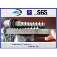 Wholesale Q235 35# 45# Railway Sleeper Screws , HDG Coating Screw Spike from china suppliers