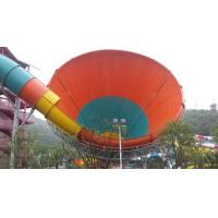 Wholesale Tornado Water Slide , Customized Fiberglass Aqua Park Slide , Water Park Attractions from china suppliers