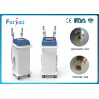 Wholesale gold-coated needles fractional rf skin lifting machine bipolar rf skin tighten machine rf remove wrinkles from china suppliers