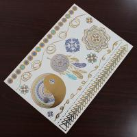 Wholesale Water Transfer Temporary Metallic Jewelry Tattoo Stickers Environment Friendly from china suppliers