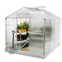 Wholesale Customized Mini Aluminum Home Garden Greenhouse , Poly Film Agricultural Greenhouse from china suppliers