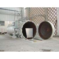 Wholesale Chemical Concrete Autoclave with PLC control and hydraulic pressure door from china suppliers