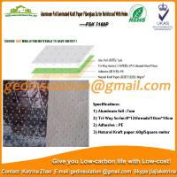 Wholesale Aluminum foil laminated kraft paper fiberglass scrim reinforced with holes  from china suppliers