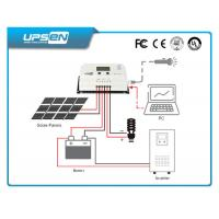 Wholesale MPPT 10A-50A solar panel controller 12V/24V solar charge controller from china suppliers