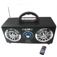 Wholesale Volume Control Music Speaker Black Woodiness Sound Box  (UK-R29) from china suppliers