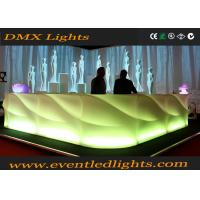 Wholesale 2015 LED Furniture LED Bar Table Rechargeable LED Table from china suppliers