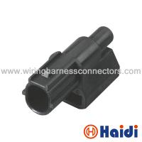 Wholesale 1 Row Wiring Harness Connectors Black / OEM Color 1 Pin With PBT + G Material from china suppliers