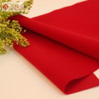 Wholesale Luxury Jewelry Box Lining Fabric Red Knitted Velvet Flocked Style from china suppliers