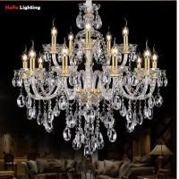 Wholesale Light Chandelier Modern crystal Large chandeliers Luxury Modern Chandelier Lighting fashion Luxury Gold transparent K9 from china suppliers