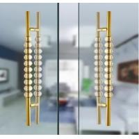 Wholesale 80mm Dia Crystal Door Handles / Polished Finish Crystal Door Knob For Indoor from china suppliers