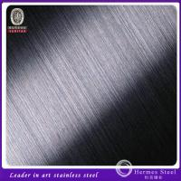 Wholesale Best Selling 304 316 201 Hairline Finish Ti-Black Color Stainless Steel Sheet from china suppliers