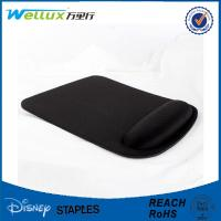 Wholesale Black Blank Heat Sublimation Wrist Rest Mouse Pad For Advertising / Gamer from china suppliers