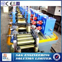 Quality High Frequency Stainless Steel Welded Pipe Machine GH45 Straight Seam for sale