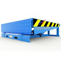 Wholesale Container Electric Dock Leveler , Unloading / Loading Warehouse Loading Dock Ramps from china suppliers
