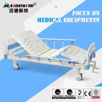 Wholesale Double Cranks Rotating Hospital Bed For Paralyzed Patients Easy Cleaning from china suppliers