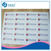 Wholesale Custom Destructible Vinyl Stickers , Glossy Self Adhesive Product Labels from china suppliers