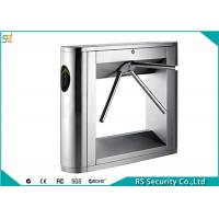 Wholesale RFID Reader Tripod Turnstile Gate Automatic Security Barrier Turnstiles from china suppliers