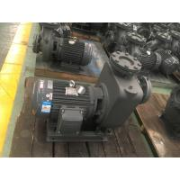 Quality Centrifugal Self - Priming Sewage Pump , Cast Iron Wastewater Treatment Pump for sale