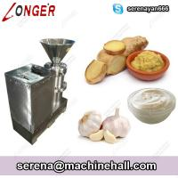 Wholesale Industrial Ginger Paste Making Garlic Paste Grinder Maker Plant from china suppliers