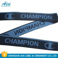 Wholesale Eco - Friendly Webbing Tape Jacquard Elastic Waistband With Custom Printed Logo from china suppliers