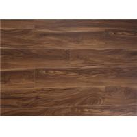 Wholesale V Groove Acacia  Laminate Flooring 12mm , Walnut Floating Wood Floors in Kitchen from china suppliers