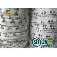 Wholesale 2CM Cotton Herringbone Tape Garments Accessories 2.5CM Distance Hook And Eye Tape from china suppliers