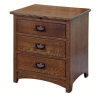 Wholesale Elegant Espresso Wooden Nightstand Home Furniture Smart Bedside Table from china suppliers