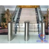 Wholesale Fitness Club Barcode Check In Speed Gate Turnstile , Office Swing Turnstile from china suppliers