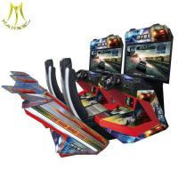 Wholesale Hansel high quality indoor simulator arcade car racing/driving game machine from china suppliers