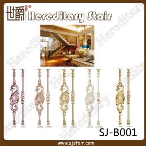 Buy cheap New Design Casting Aluminum Balustrade for Staircase (SJ-B001) from wholesalers