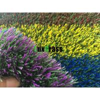 Wholesale Coloured Artificial Grass For Garden Playground Kindergarten Custom Natural from china suppliers