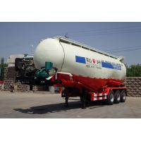 Wholesale Carbon Steel Stable Cement Bulk , Bulk Tank Truck With 3 Axles For Fly Ash from china suppliers