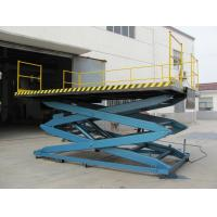 Wholesale Mobile flexible telescopic Electric Lifting Platform , Self propelled Scissor Lifts from china suppliers