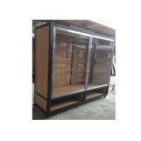 Buy cheap Clear Tempered Glass Door Wall Mounted Display Cabinets Commercial Retail Commercial Retail from wholesalers