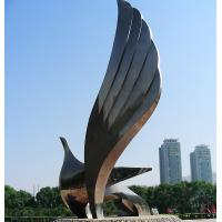 Wholesale Large outdoor bird shape stainless steel sculpture from china suppliers