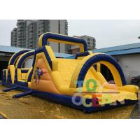 Wholesale 18m Length Giant Adult Inflatable Obstacle Course Game For Teambuilding Sport from china suppliers