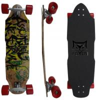 Buy cheap Customized 34.15*9.6 Inch Chinese Maple Wooden Skateboard for Kid Mini Graphic Skateboard from wholesalers