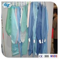 Wholesale Disposable PP Nonwoven Surgical Gown Medical Non Woven Fabric For Doctor from china suppliers