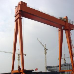 Buy cheap Industrial Heavy Duty Double Girder Overhead Crane For Railway 200 - 500 Ton from wholesalers