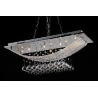 China IDX-3018-8 SQUARE STAINLESS STEEL CRYSTAL LIGHT COOL LIGHT /WARM LIGHT for sale
